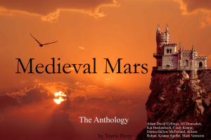 Medieval Mars Anthology