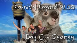 Carnival Legend Cruise to New Caledonia - Day 0 Sydney